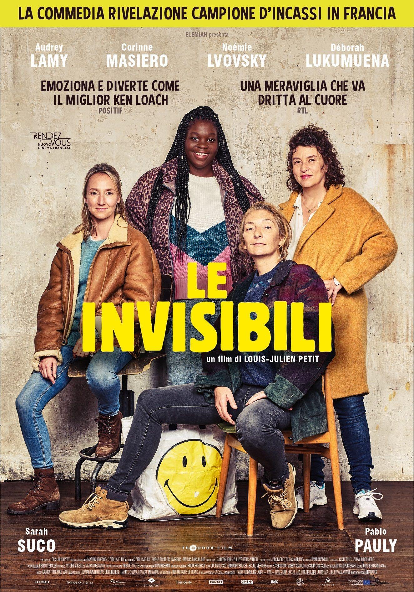 Le invisibili Poster Italia Film, Guardare film, Film da