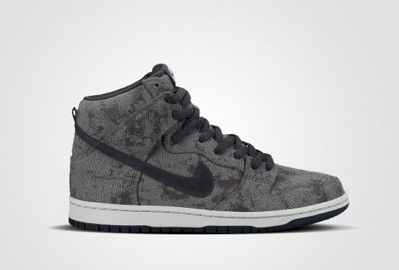 premium selection a939c 5c493 NIKE SB DUNK HIGH PRO - NEUTRAL GREYANTHRACITE