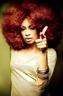 Natural hair and the effect on you're fashion style. Colors...