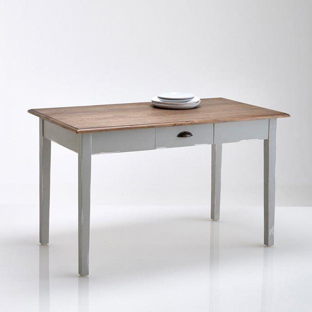 Image Table De Cuisine Pin Massif De 2 à 4 Couverts 2 Modèles