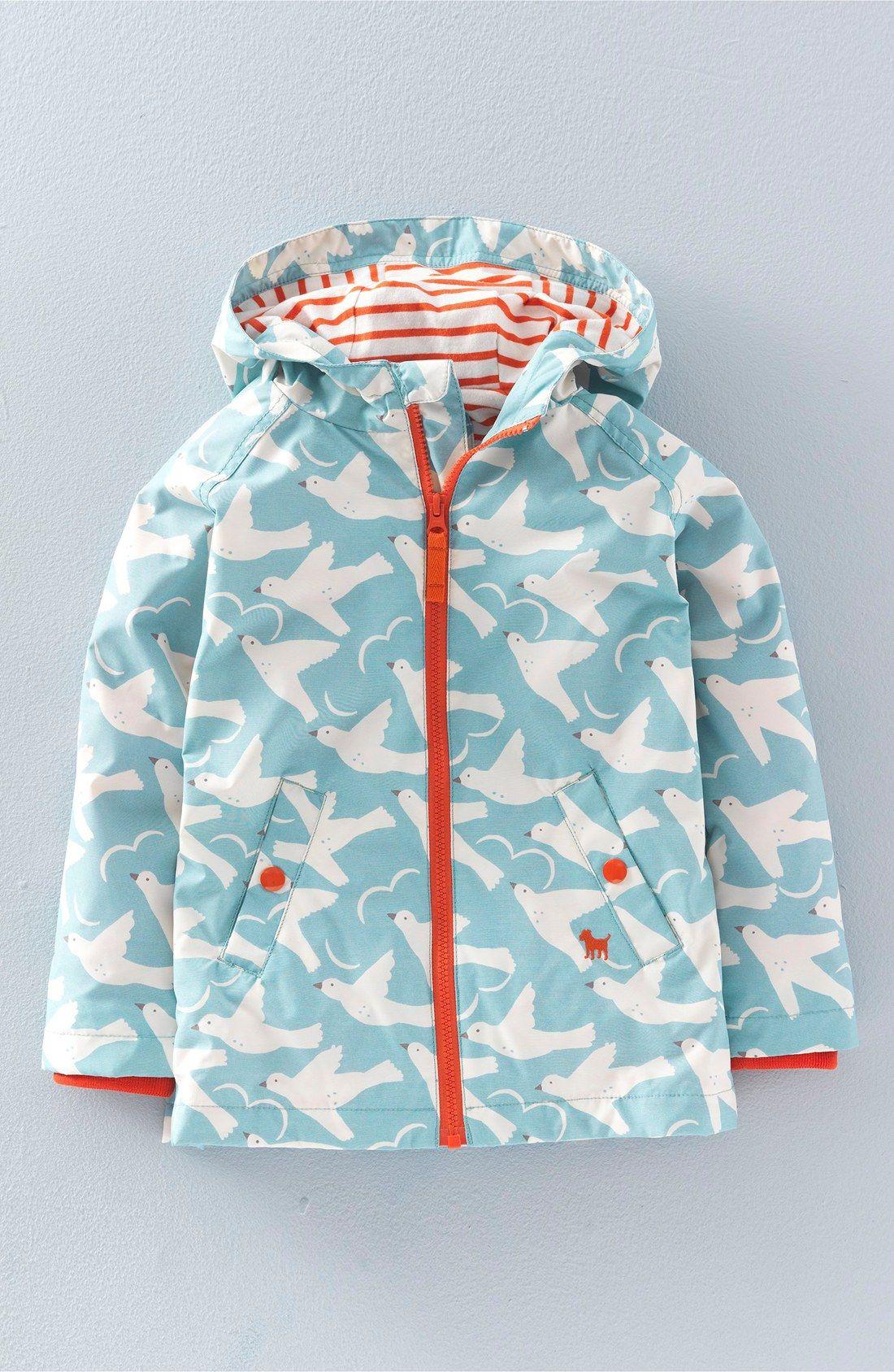 Mini boden water resistant hooded anorak toddler girls for Mini boden england