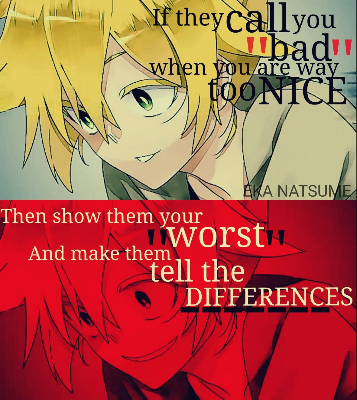 Photo Editor With Love Quotes Song True Love Restraint Editor Eka Natsume  Anime Quote