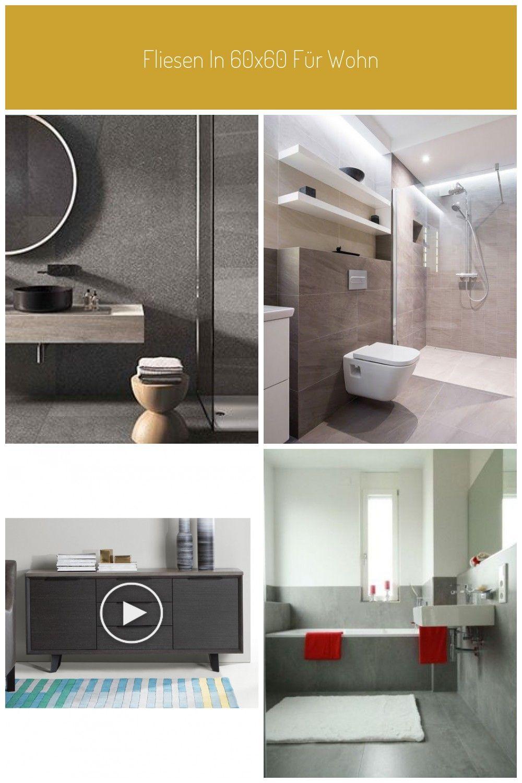 Fliesen In 60x60 Fr Wohntrume In 2020 Neues Badezimmer Badezimmer Grau Badezimmerideen