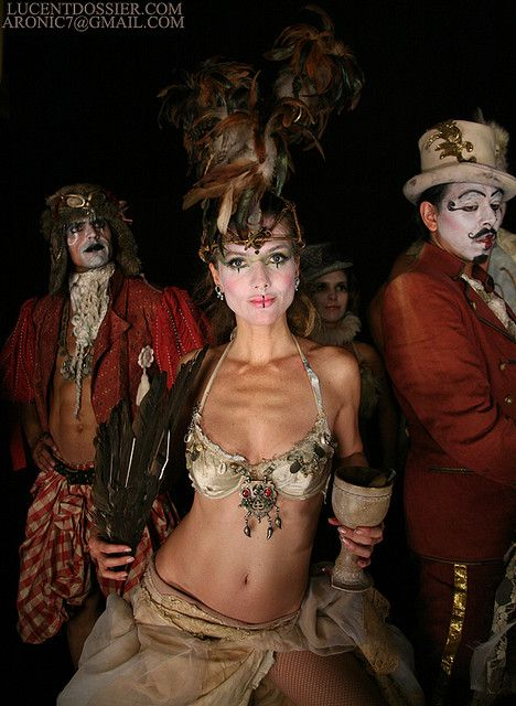 My costume party I\u0027m going to is Cirque Du Freakthis