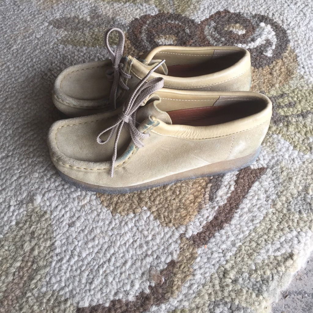 Clarks Wallabees. Size: 5.5