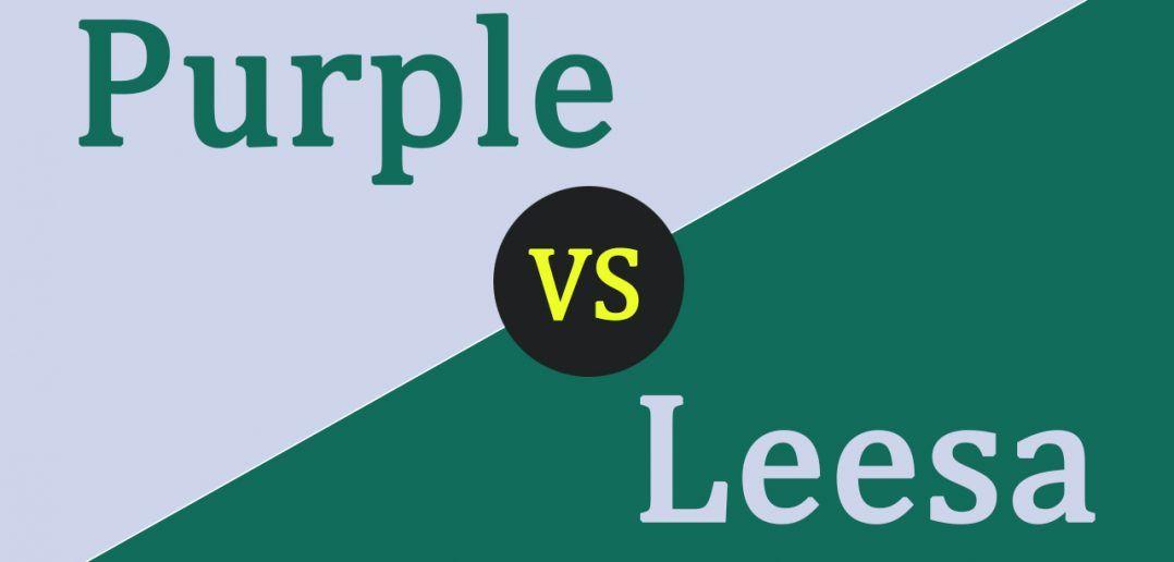 Purple Mattress Vs Leesa Mattress Comparison Bestmattressesreviews Mattress Comparison Purple Mattress Leesa Mattress