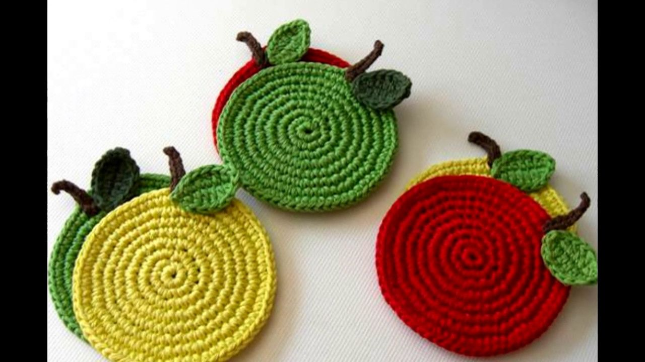 افكار كروشيه للمطبخ 2017 اجمل اكسسوارات مطبخ من الكروشي مفارش كروشية للم Crochet Irish Crochet Crochet World
