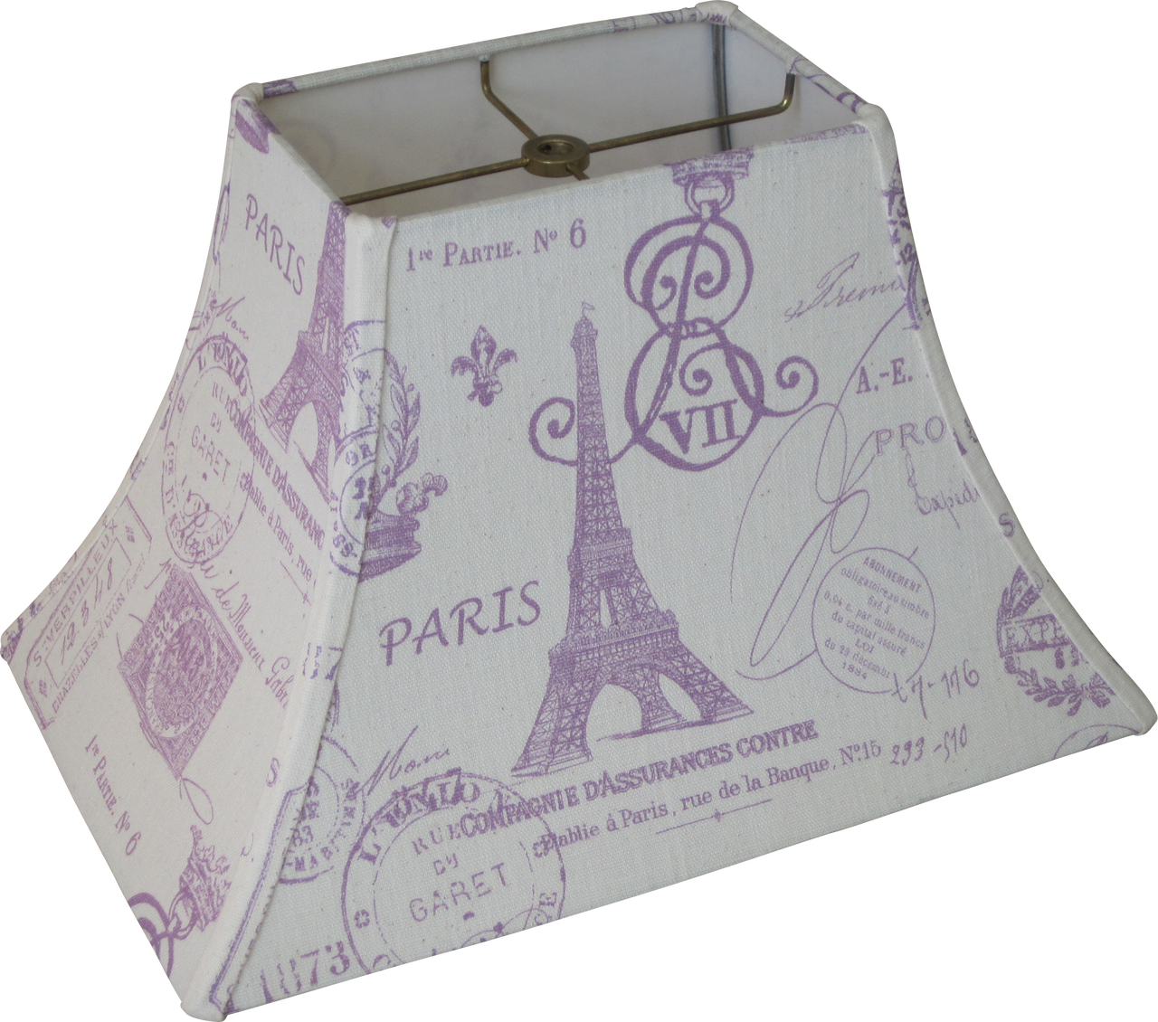 Lampshapes linen lamp shade bell shaped purple script lampshapes linen lamp shade bell shaped purple script french linen aloadofball Choice Image