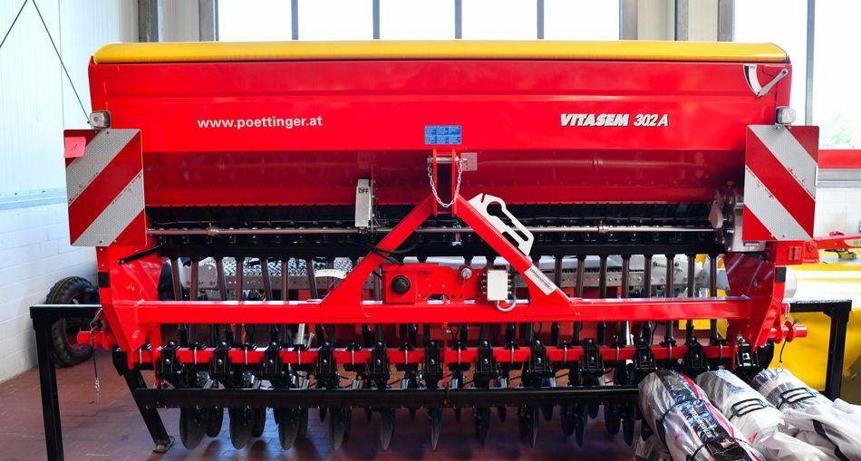 Pottinger Vitasem 302 A Samaschine Stegemann Landtechnik Technik Landwirtschaft Traktor