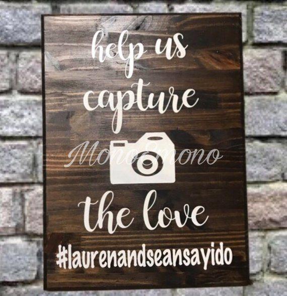 Wedding Hairstyle Hashtags: Wedding Signs, Wedding, Wedding Ceremony Supplies