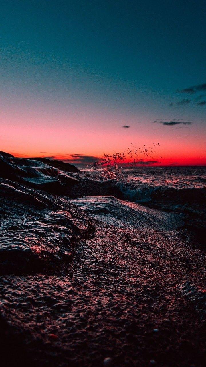 картинка в We Heart It Nature wallpaper, Sunset