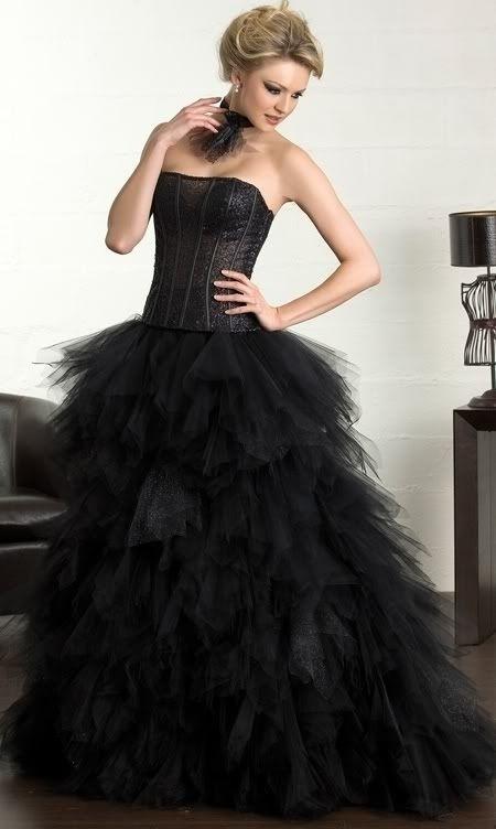 plesové šaty na míru maturitní ples - vampire e8b1640402