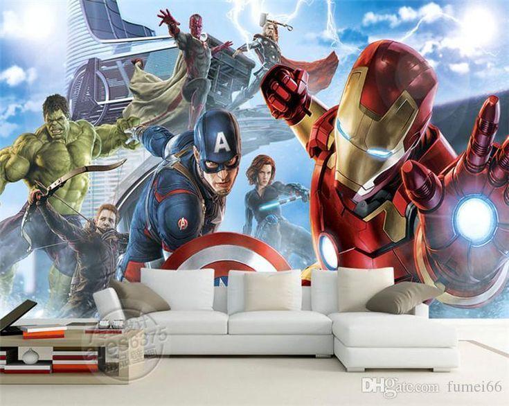 Rächer Fototapete Benutzerdefinierte 3D Wallpaper für Wände Hulk Iron Man Captain America Fot...,  #America #Benutzerdefinierte #Captain #Fot #Fototapete #für #Hulk #Iron #ironman3DWallpaper #Man #Rächer #wallpaper #Wände