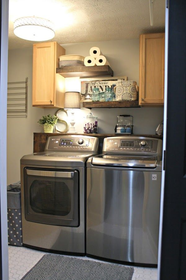 Lg Washer And Dryer Review Four Years Later Small Laundry Rooms Laundry Room Remodel Lg Washer And Dryer