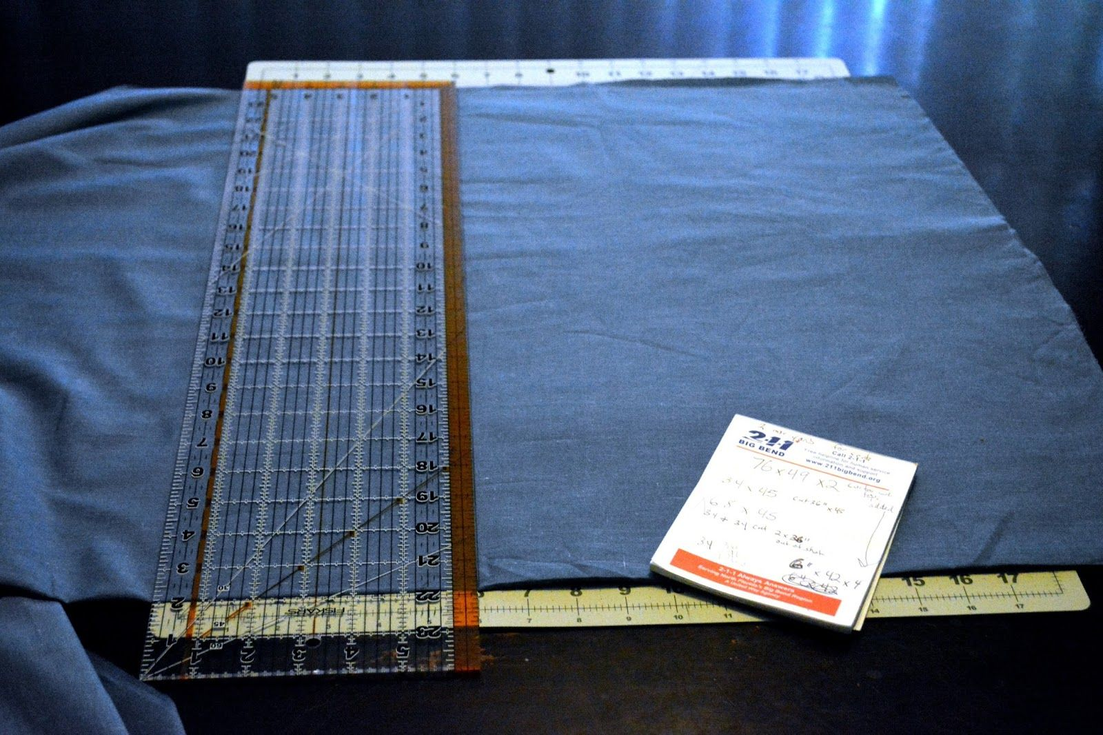 No Sew Curtain Instructions For PopUp Camper Curtains.
