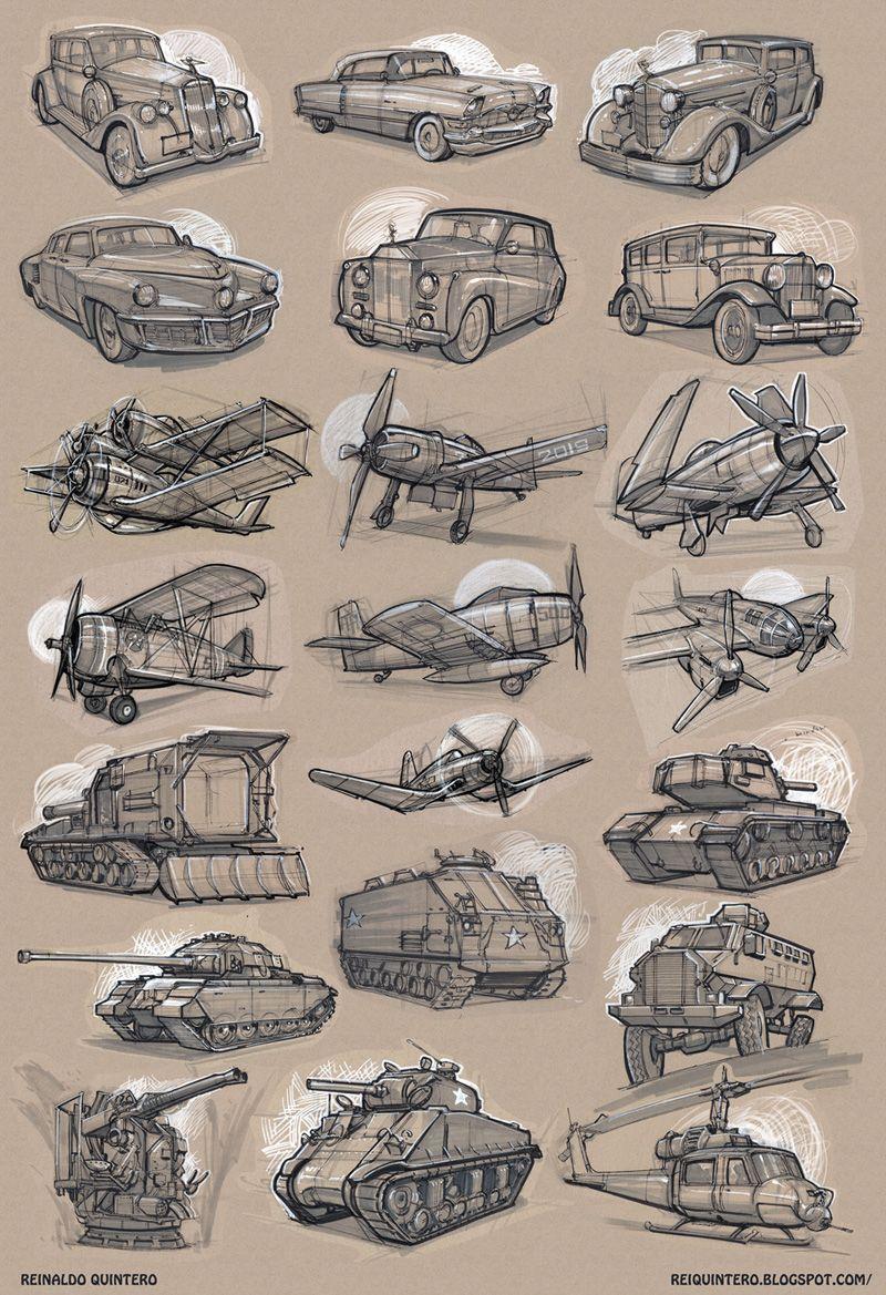 Sketchbook: Reinaldo Quintero Sketchbook | idejeM | Pinterest ...