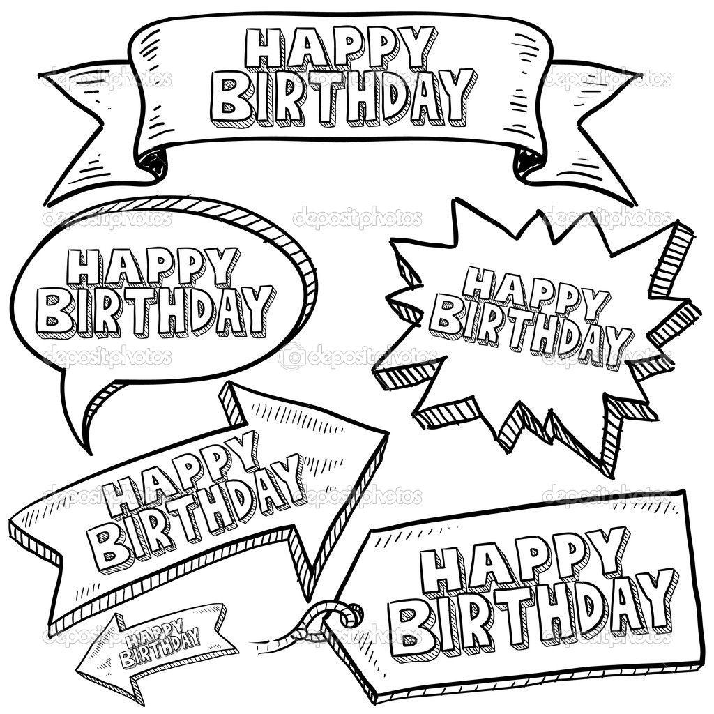 happy birthday doodles - Google Search   Graphic facilitation ...