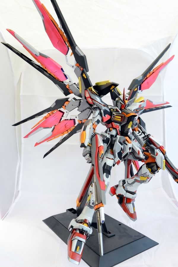 GUNDAM GUY: PG 1/60 Strike Freedom Gundam - Painted Build | Toys | Gundam, Gundam model, Custom ...