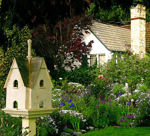 Lovely 20 Cottage Style Landscaping Ideas To Enhance Your: Pin By Joanna Vaickus On Fantasy Homes