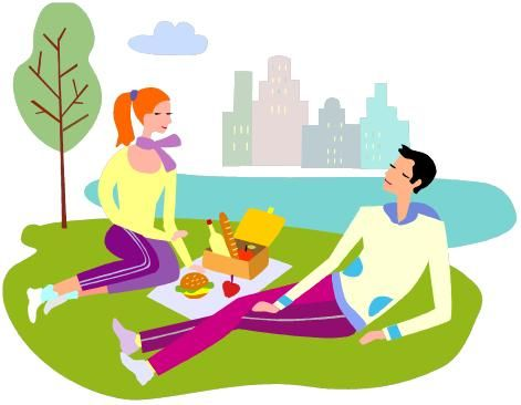 Family is Having a Picnic clipart. Free download transparent .PNG |  Creazilla