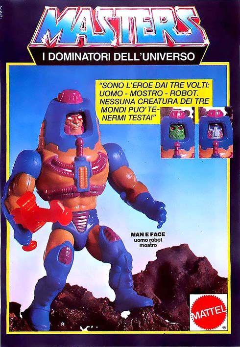 HE-MAN E I DOMINATORI DELL/'UNIVERSO VINTAGE MINI FUMETTO 80s giocattolo