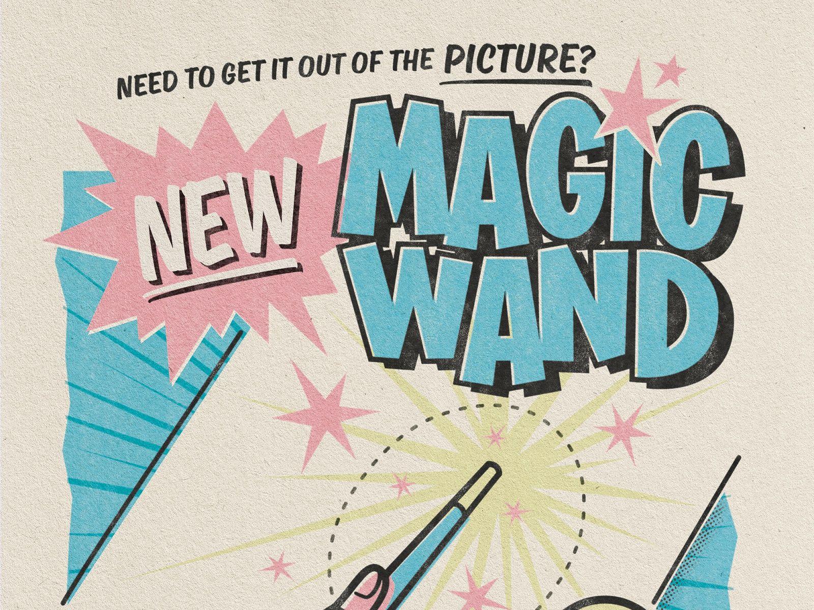 New Magic Wand Art Print