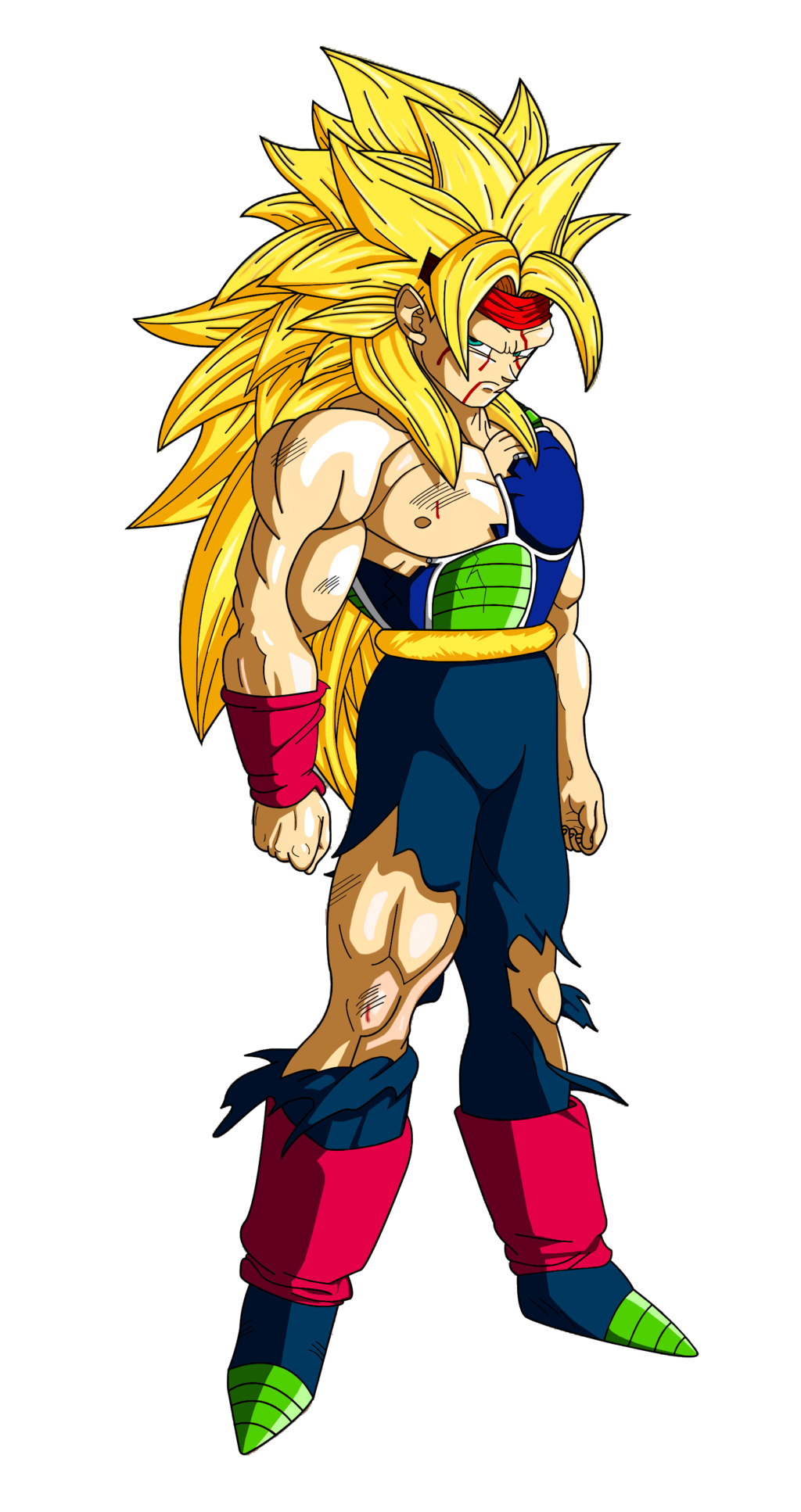 Bardock Super Sayian 3 Dragon Ball Fanon Wiki Dragões