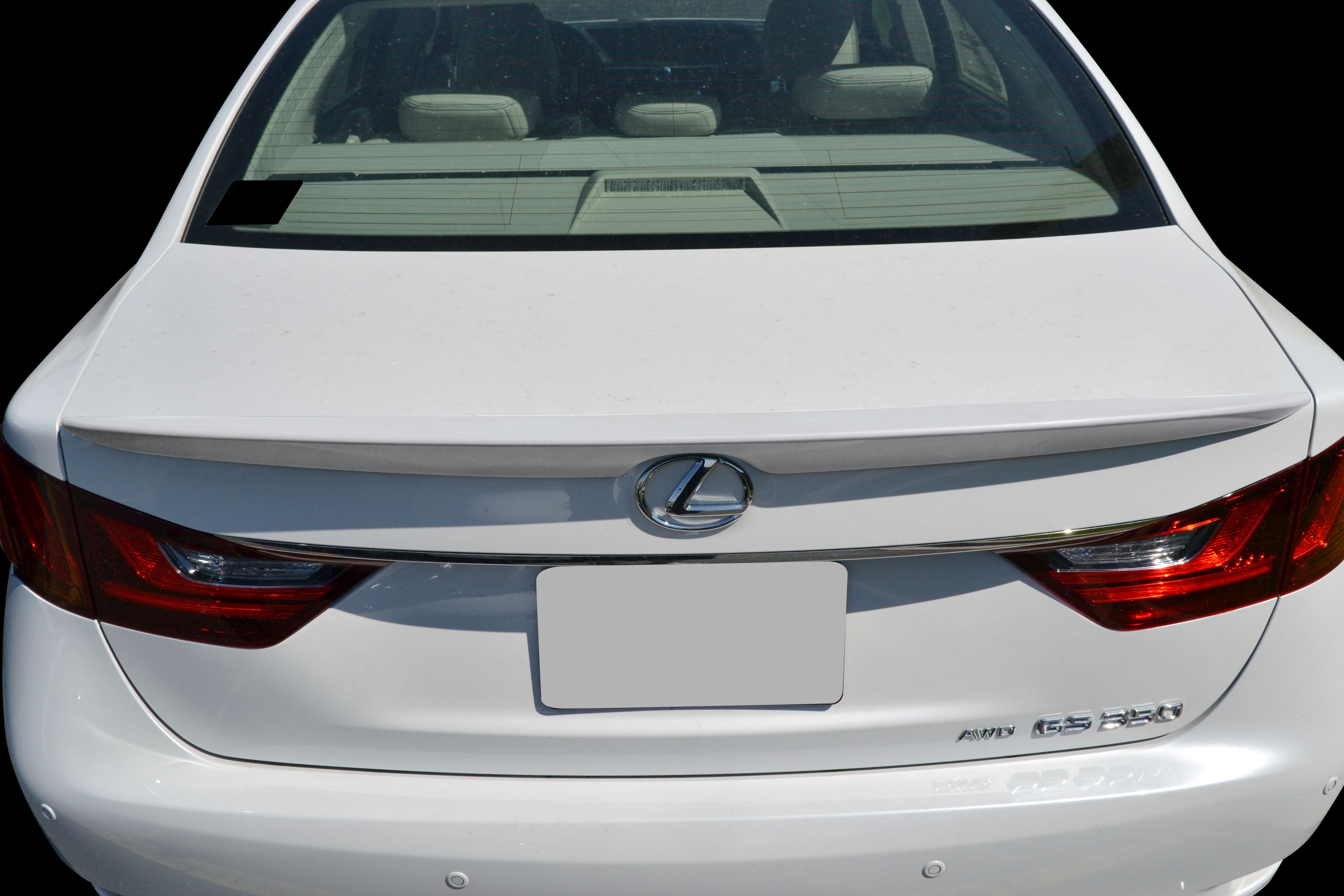 Lexus Gs350 Factory Style Flush Mount Rear Deck Spoiler 2013 2020 Gs13 Fm Lexus Flush Mount Deck