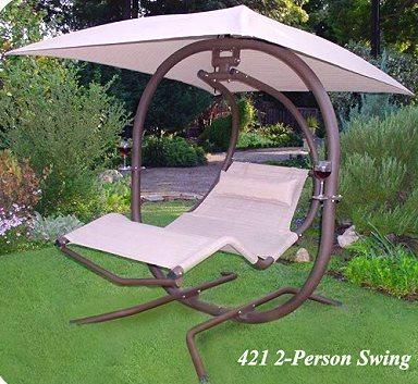 I Found The Ultimate Two Person Pendulum Swing Porch Swings Swingsnthings The Hammock Source On Wish Check It Out Backyard Outdoor Hammock Swing