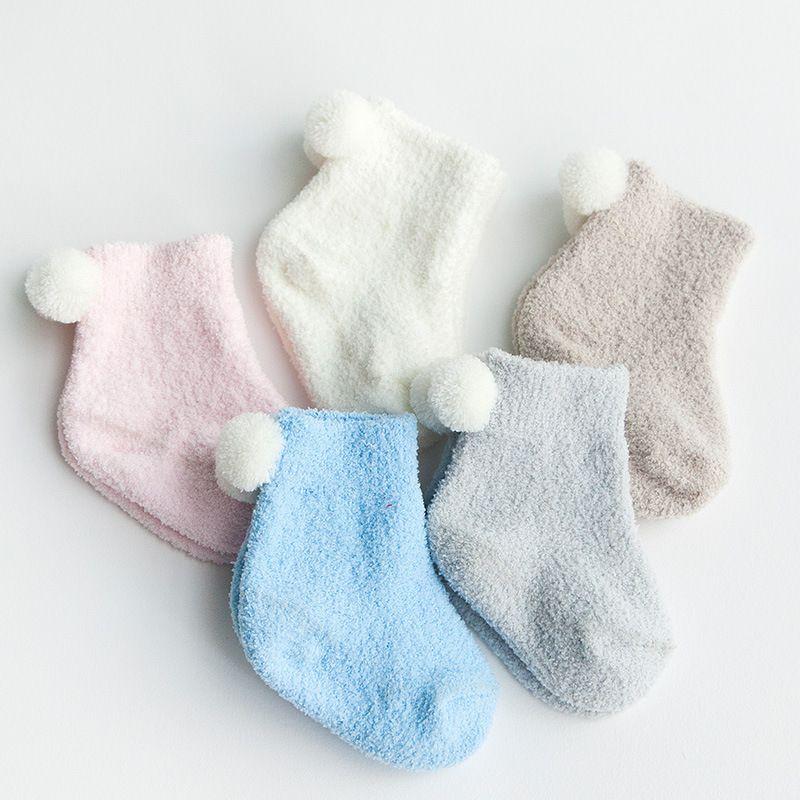 bf109a85a0c8 3 Pairs Pak Herfst en winter verdikking baby thermische sokken 0-3 ...
