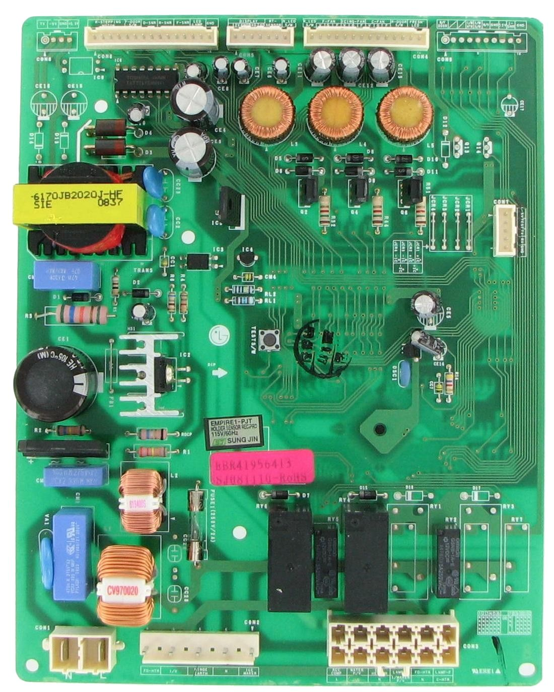 Lg Ebr41956413 Refrigeration Electronic Control Board Refrigerator Lg Lg Electronics