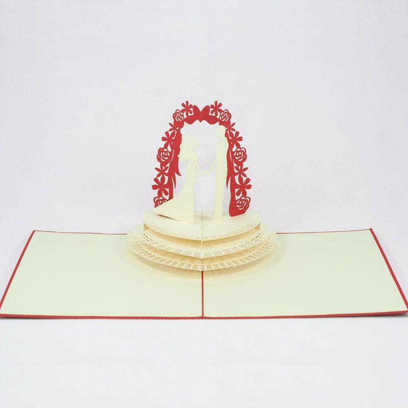 Wedding Invitation Pop Up Card #popupcardvietnamsupplier ...