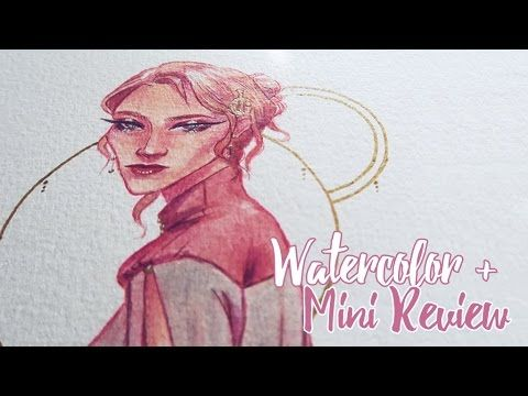 Watercolor + Mini Review - Dbmier Lightbox