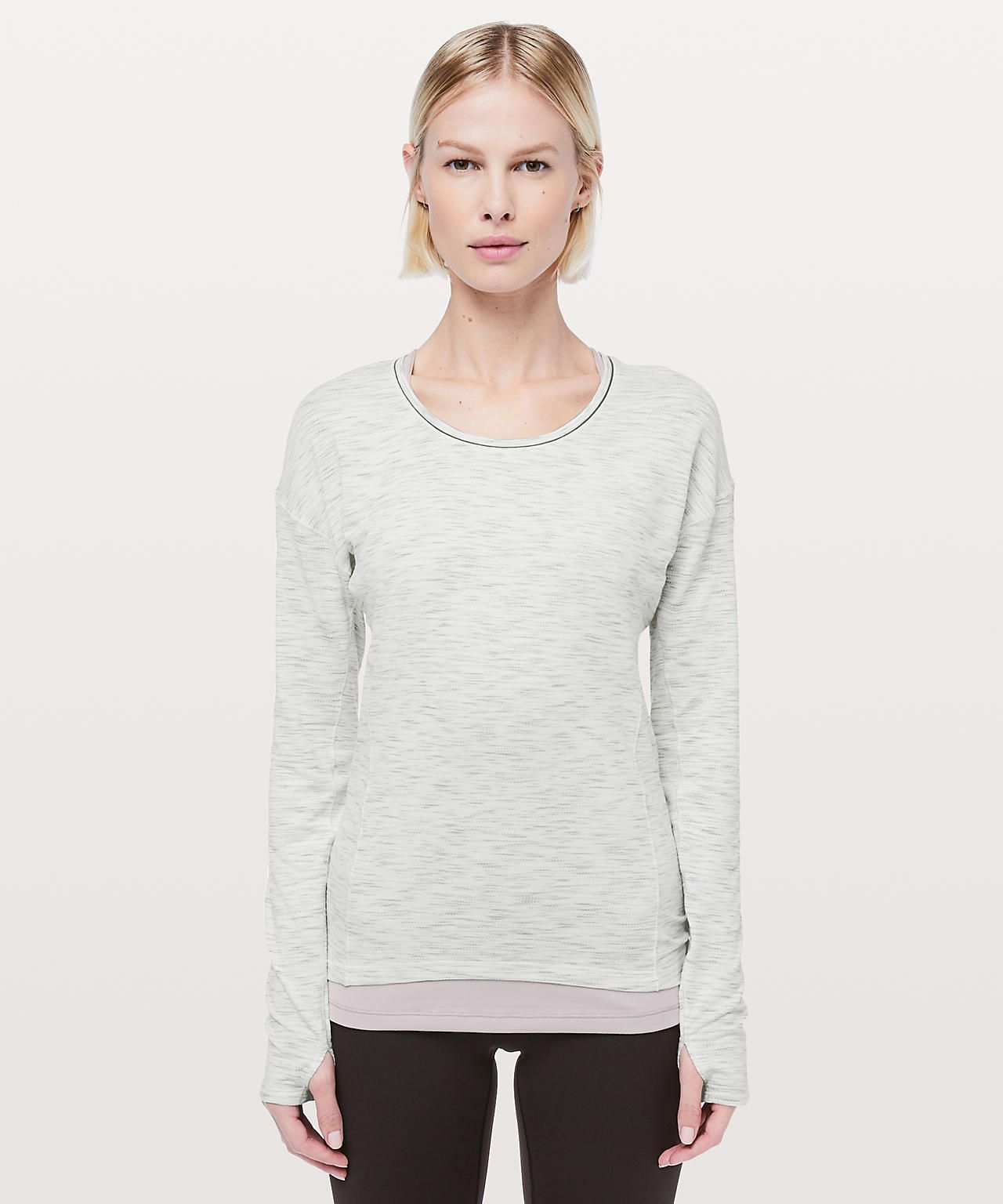 2c5135f3542b3 Lululemon Sweat Embrace Long Sleeve
