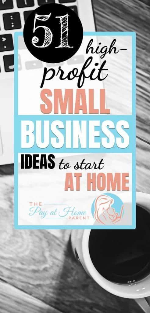 Top Ten Small Business Ideas Out of 51 Creative Options ...