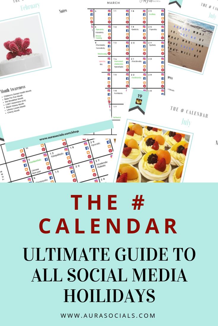 Social Media Calendar Plan For February 2019 Calendar guide and planner for ALL social media holidays and