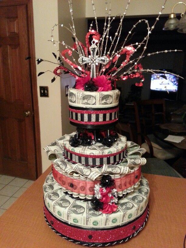 Money Cake Made For Pastor Jamone Glenn Of Revolution Community