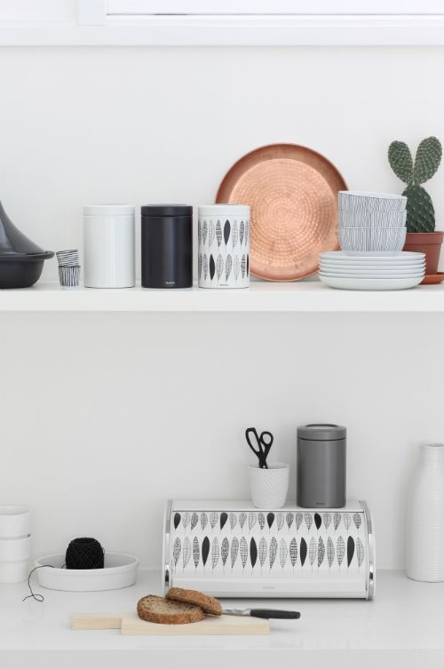 Brabantia spring collection combined with warm copper