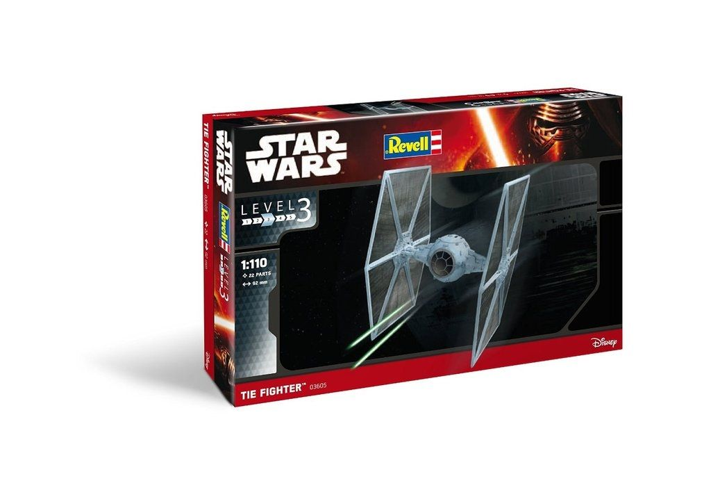 Revell Model Kit Star Wars Tie Fighter 1:110 Scale 03605