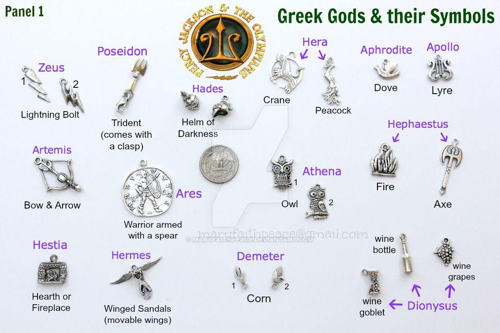 Percy Jackson Demigod Greek Mythology Theme CHARMS by ...