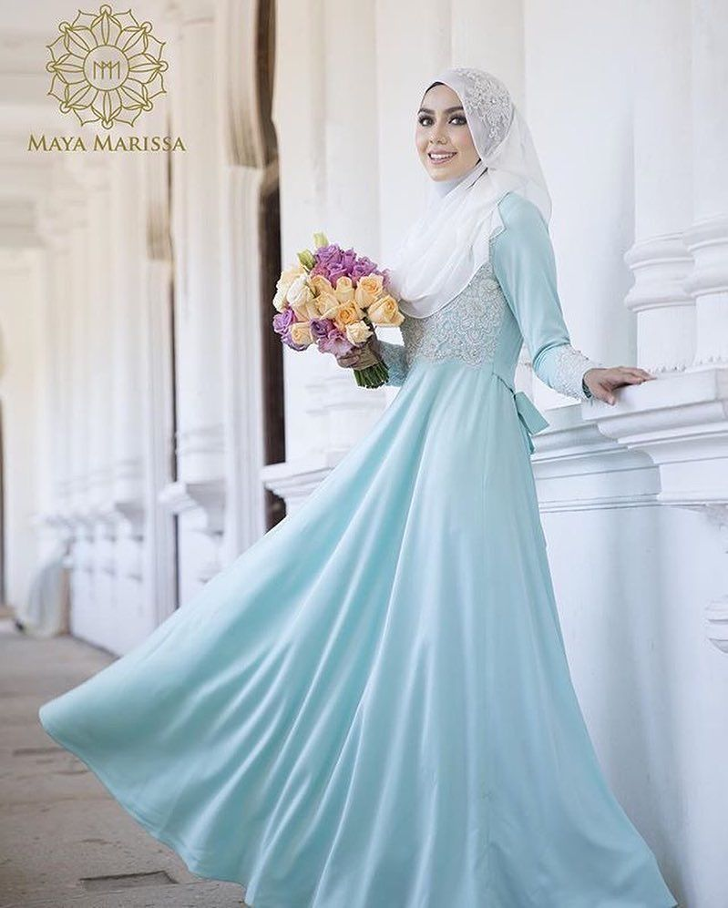 Pin by Syaheera Razak on Wedding | Pinterest | Niqab, Wedding dress ...