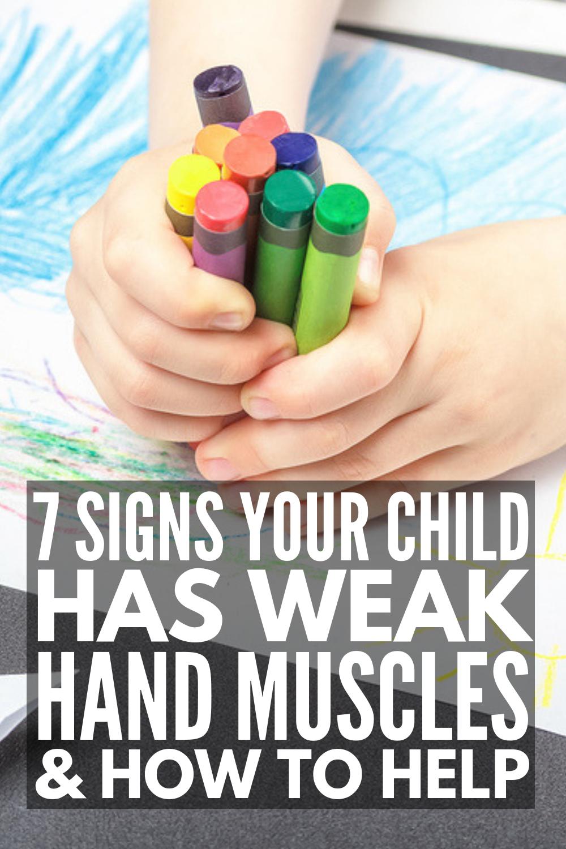Fine Motor Development: 15 Hand Strengthening Exercises For Kids #strengtheningexercises