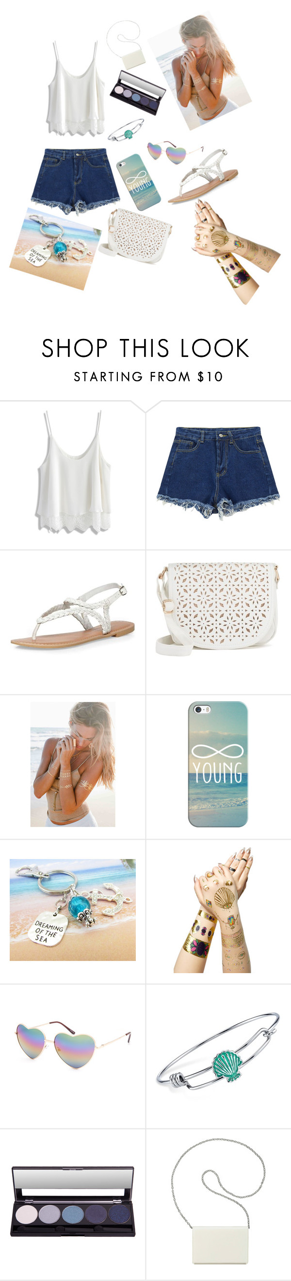 """""""Untitled #19"""" by esmestar04 ❤ liked on Polyvore featuring Chicwish, Chicnova Fashion, Dorothy Perkins, Under One Sky, Casetify, Tattify, Full Tilt, Disney and Nine West"""