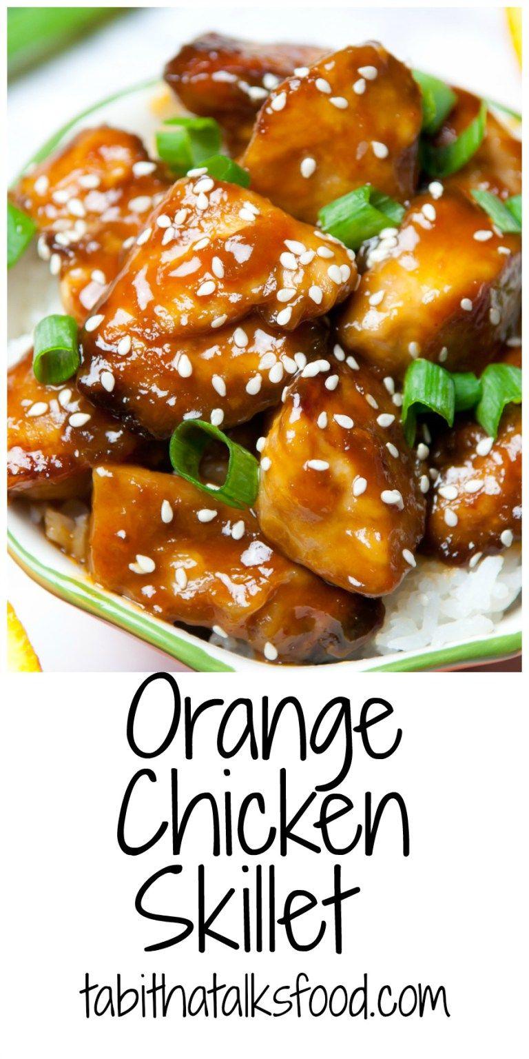 Orange Chicken Tabitha Talks Food Recipe Orange
