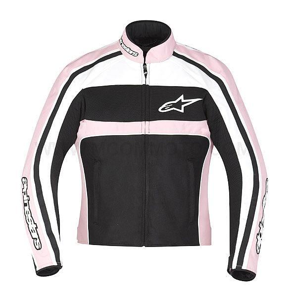 Air Blouson Noir Blanc Jacket Alpinestars T Veste Stella Dyno Rose rodxCBeW