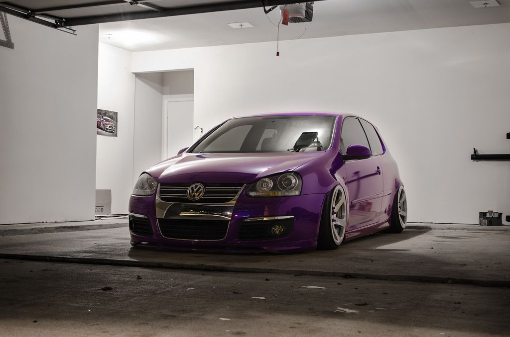 Vwvortex Com Fs 2009 Vw Gti Vinyl And Bagged 50000 Miles