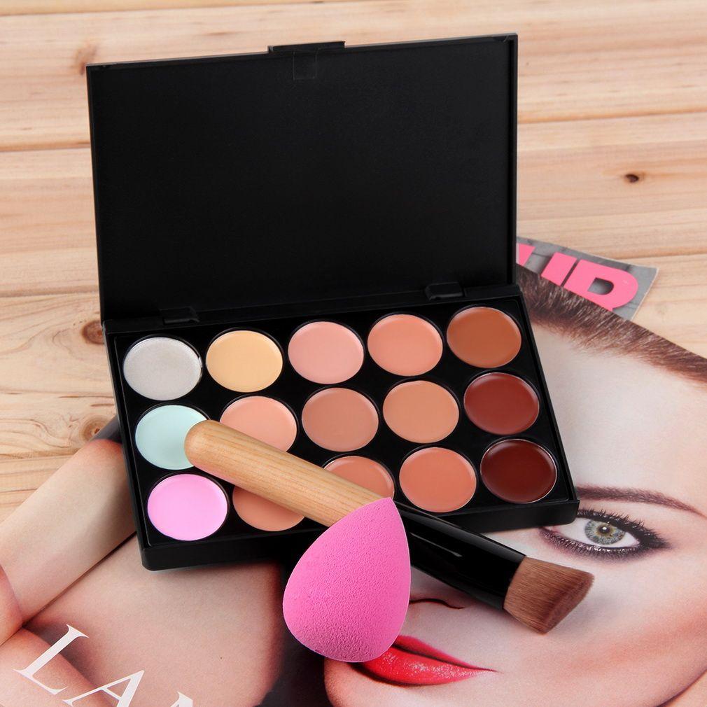Professional 15 colors Concealer Facial Face Cream Care