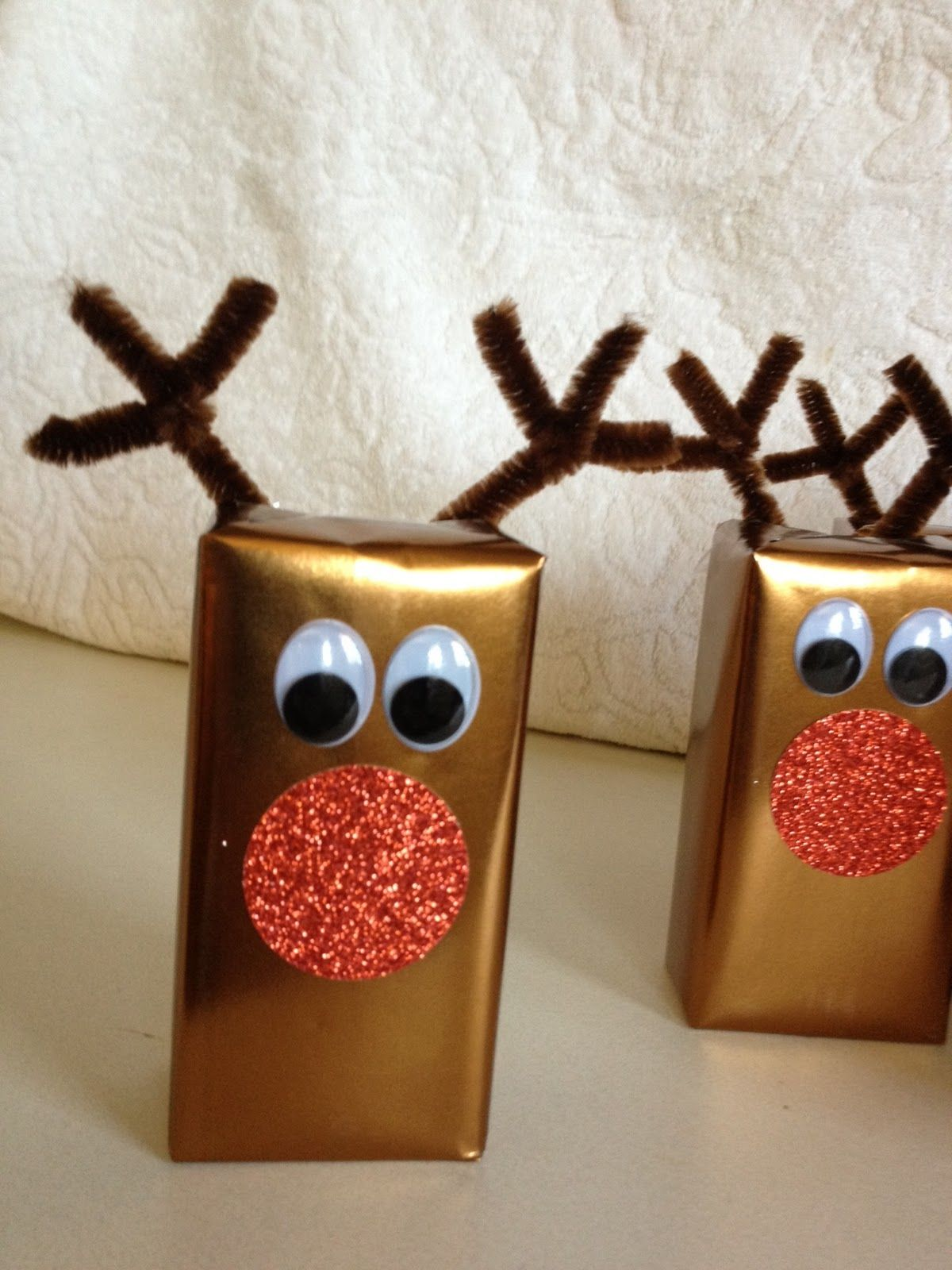 H Is For Hayes Look What I Made Holiday Party Kids Juice Box Crafts Christmas School