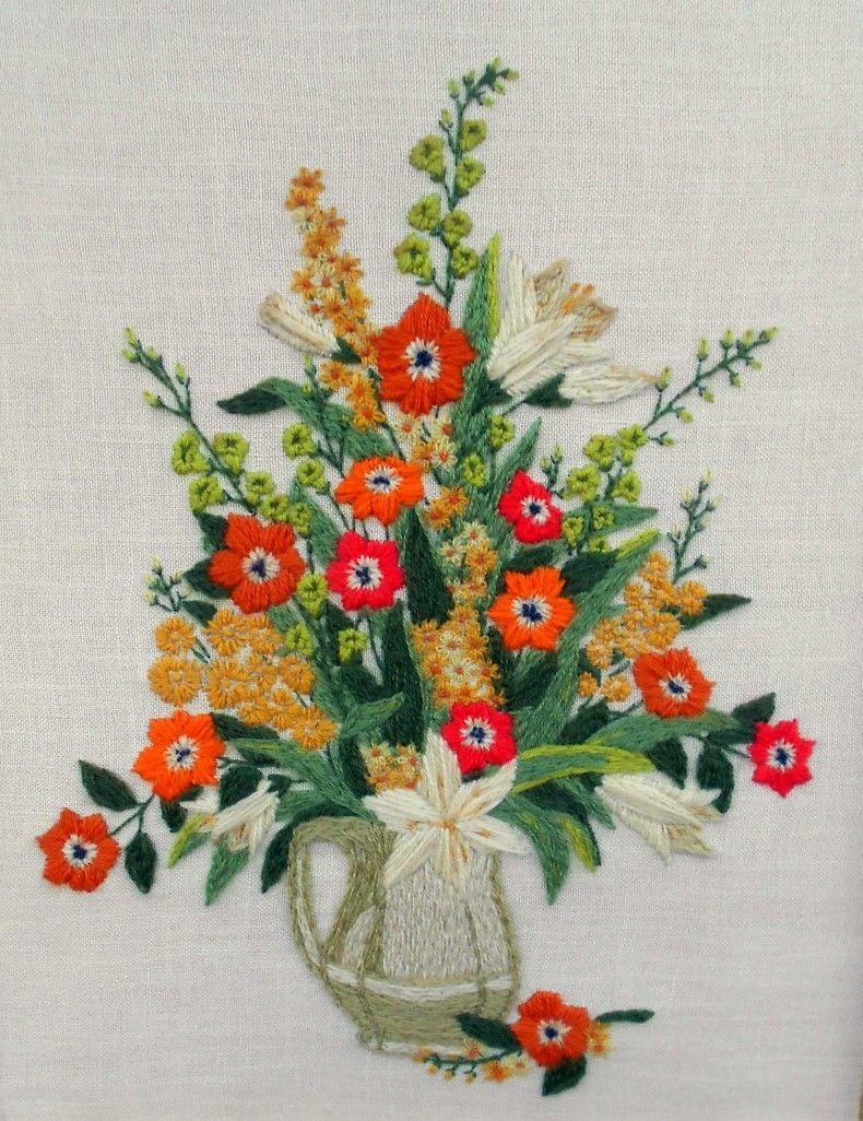 Pin by regina maria on bodados pinterest embroidery needlework