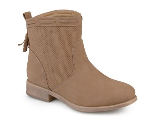 a8526cffd Women's Journee Collection Zandra Western Bootie - Taupe | Products ...